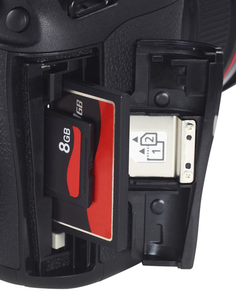 EOS 5D Mark III dual card slots