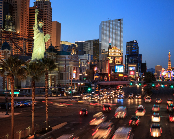 New York New York, Las Vegas by Anne McKinnell