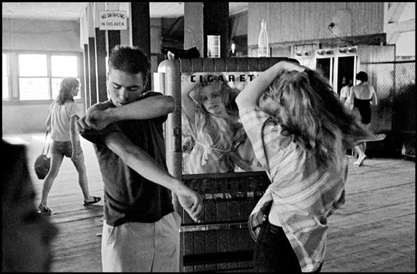 Coney Island, NY. 1959. From Brooklyn Gang.