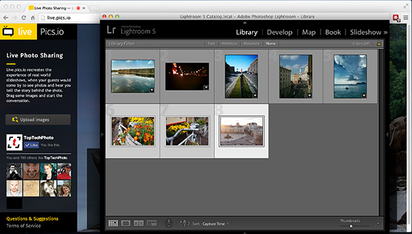 LivePicsio Lightroom
