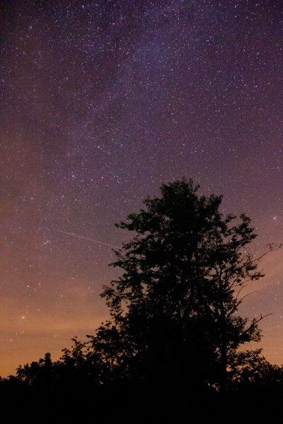 Milky Way, silhouette, night, star photography, astrophotography, stars