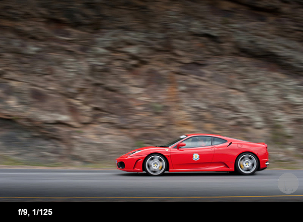 Car photography tips ferrari