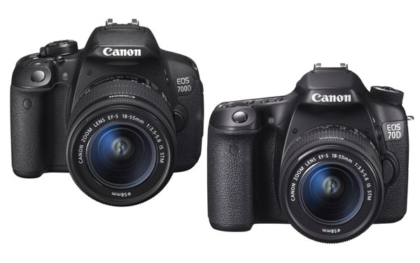 Review Comparison of the Canon EOS 70D vs Canon 700D