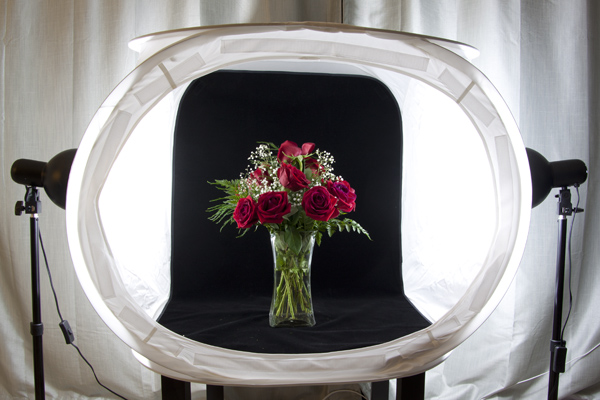 McEnaney-light-tent-roses-new-vase & How to Use a Light Tent for Small Product Photography