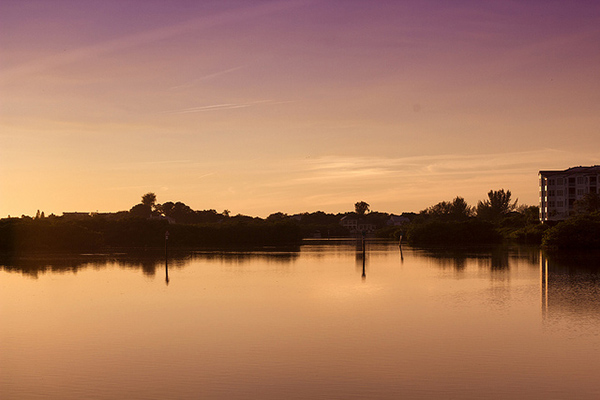 inlet sunset photography