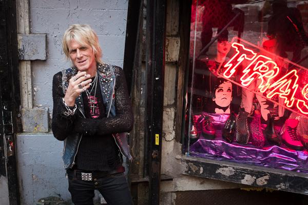 Shop Owner, Trash and Vaudeville, NYC.