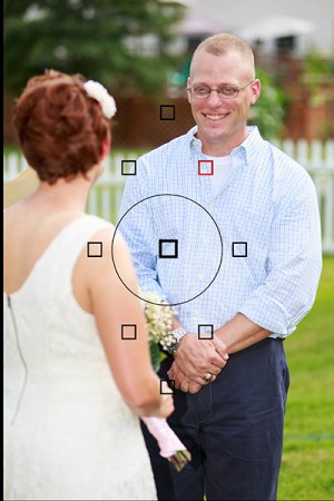 Using Manual AF Point Selection I was able to keep my brother in focus despite the fact that my sister in law was closer and covered by an AF point. Automatic AF point selection would have selected her instead.