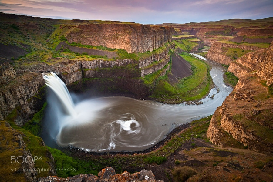 Photograph Palouse Falls by Jason Hatfield on 500px