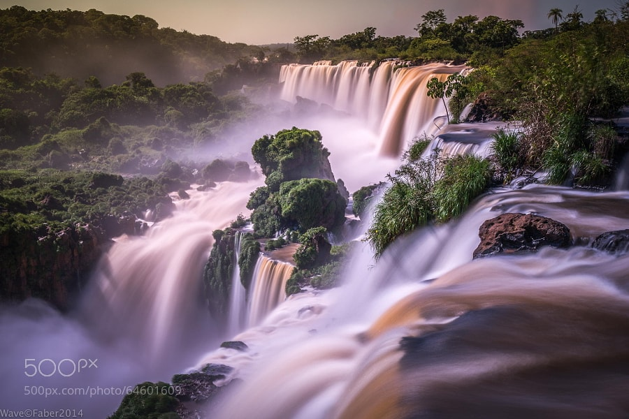 Photograph Iguazu colours 4.0 sec. by Wave Faber on 500px