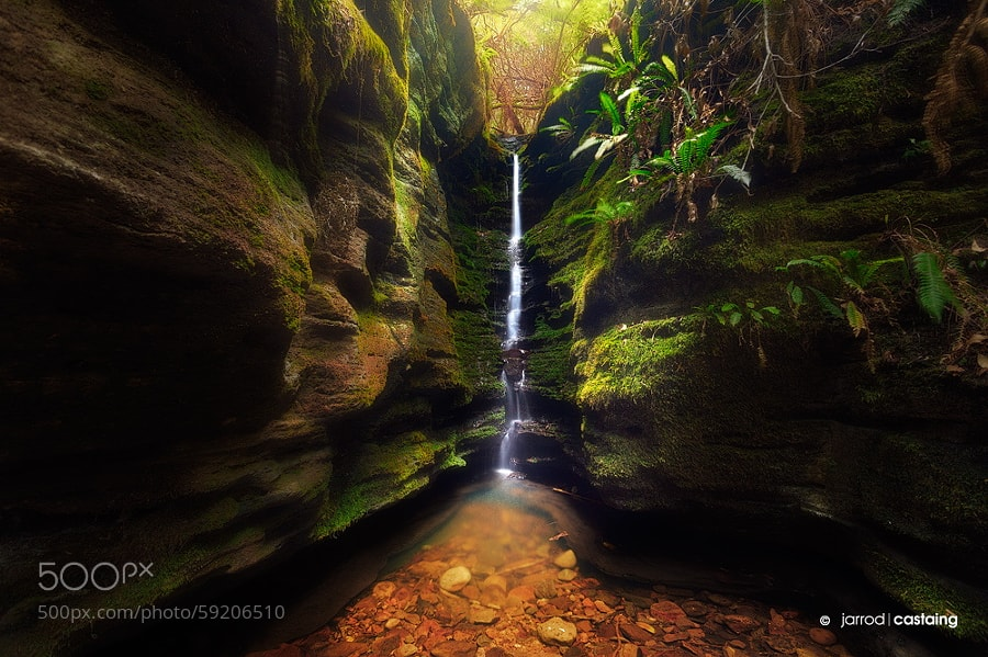 Photograph Secret Falls by Jarrod Castaing on 500px