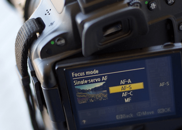 How to Avoid Blurry Photos by Choosing the Right Autofocus Mode