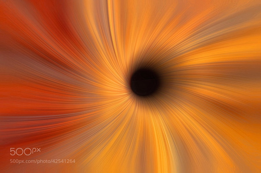 Photograph Black Hole Abstract by Alan Borror on 500px