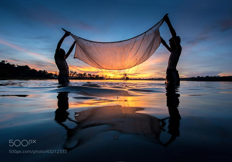 Photograph Young fishing by sarawut Intarob on 500px
