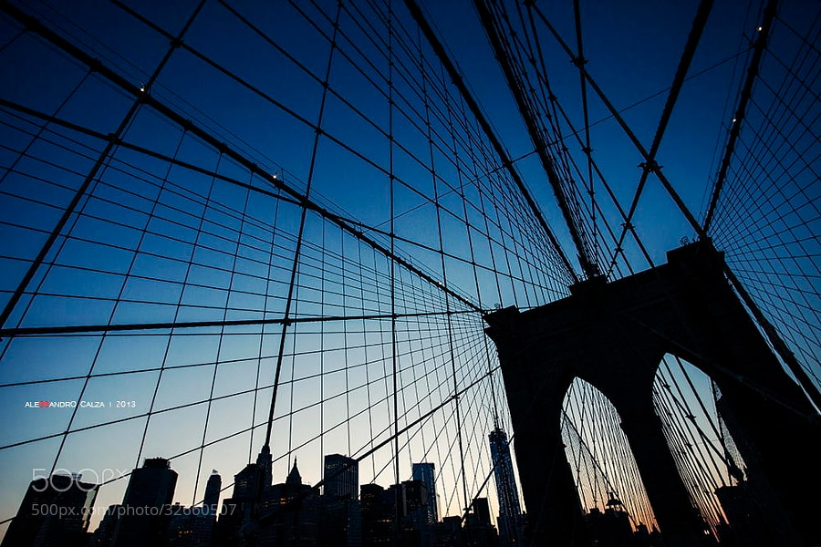 Photograph Brooklyn Bridge by Alessandro Calza on 500px
