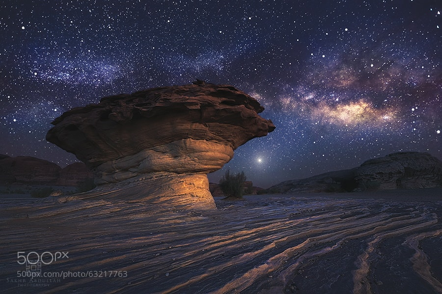 Photograph Fossilized UFO by Sakhr Abdullah on 500px