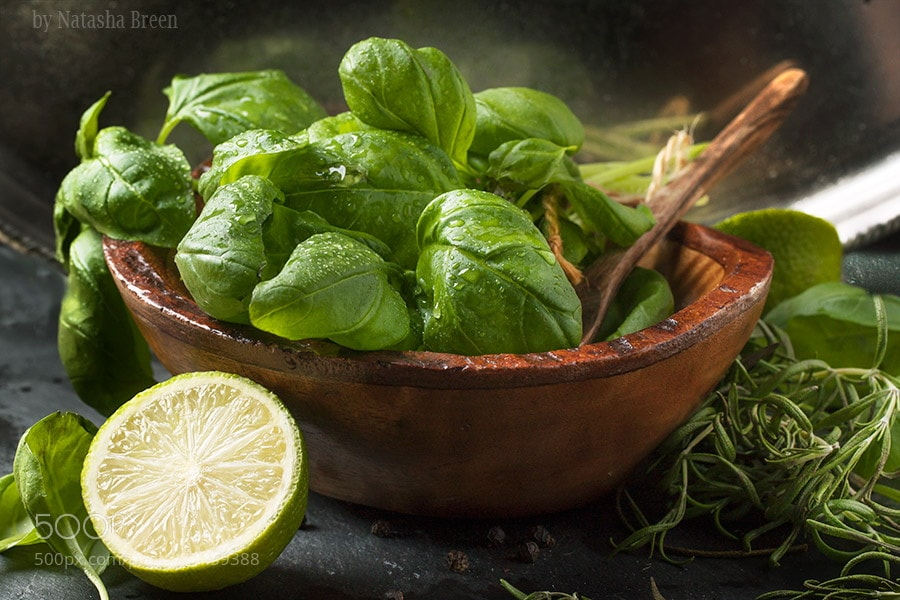 Photograph Basil and Lime by Natasha Breen on 500px