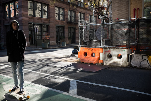 Skater, Bleecker Street
