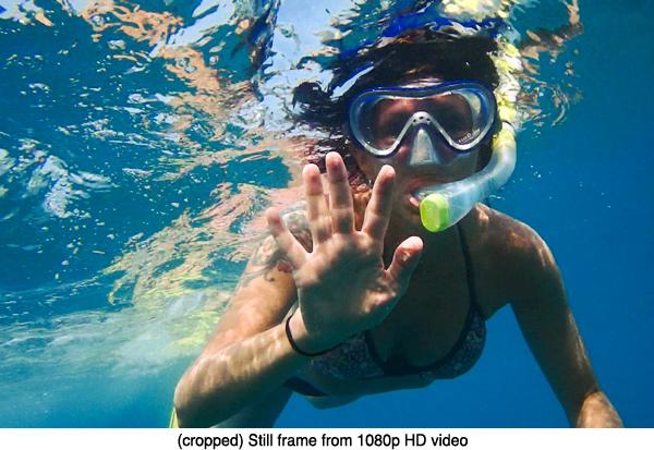 how to make the olympus tracker tg not fisheye lens