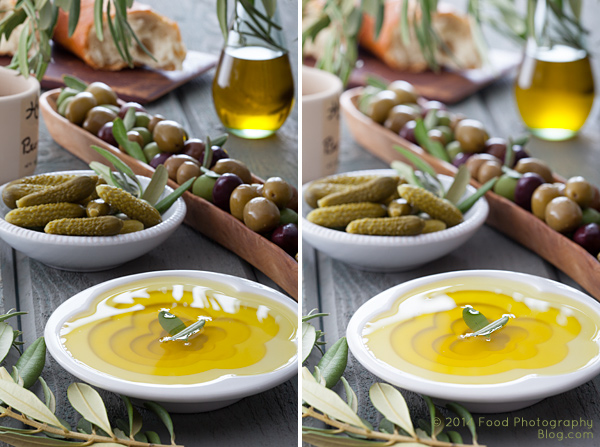 Selected Focus Olives