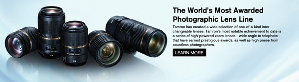 Win One of Three Lenses From Tamron!
