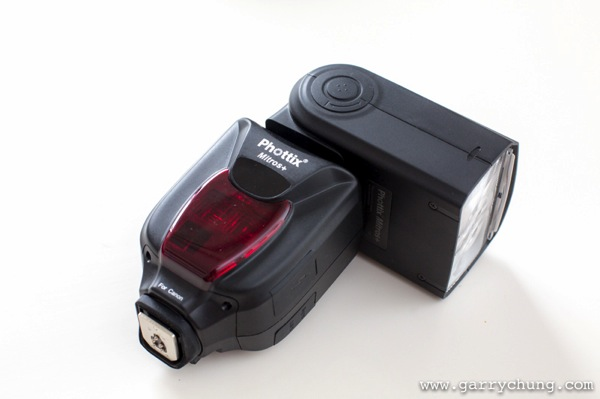 Bounce flash 105