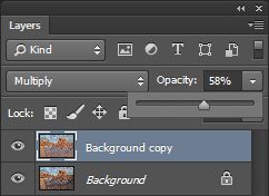 Photoshop Layer Opacity