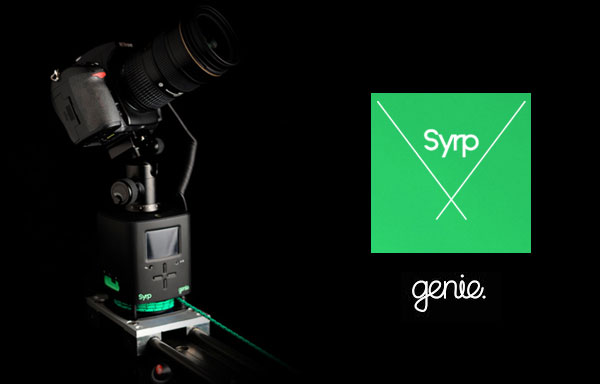Syrp Genie运动控制评论 -  Gavin Hardcastle