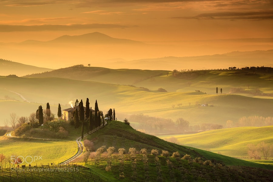 Photograph Podere Belvedere, San Quirico d'Orcia by Edwin Kremer on 500px