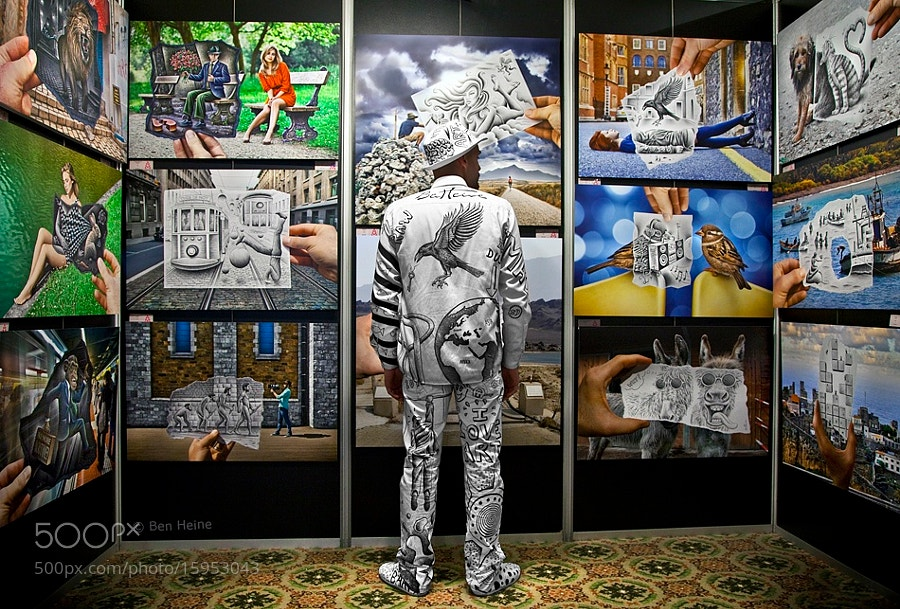 Photograph Customized Exhibition Uniform by Ben Heine on 500px