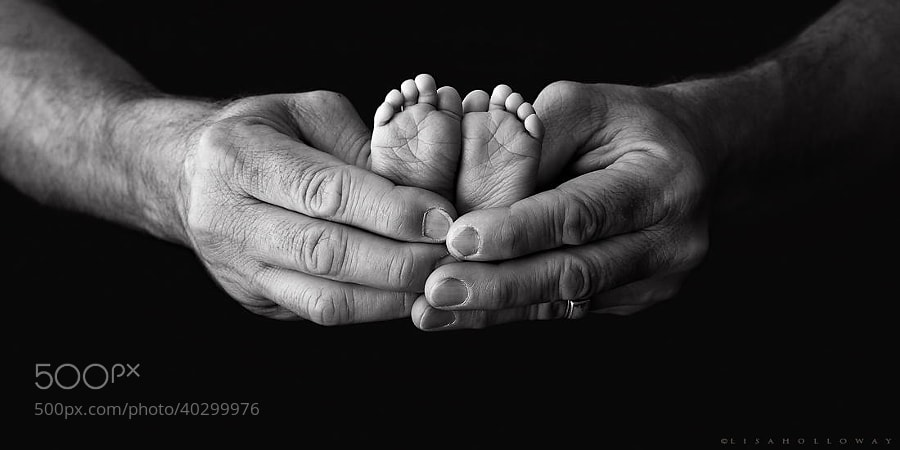 Photograph Tiny Feet by Lisa Holloway on 500px