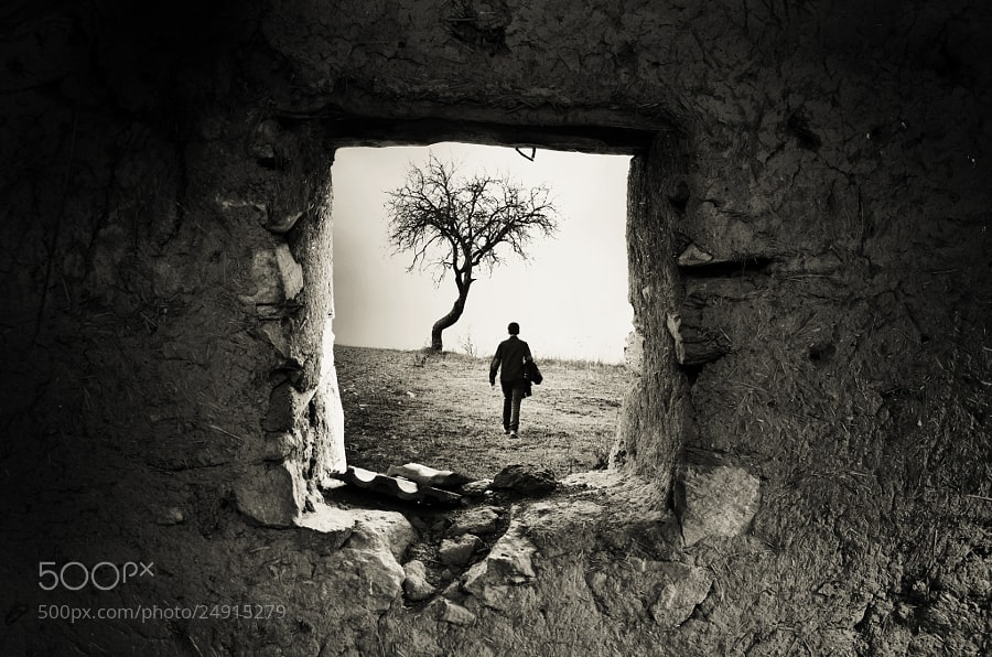 Photograph Behind the old Window by Adrian Limani on 500px