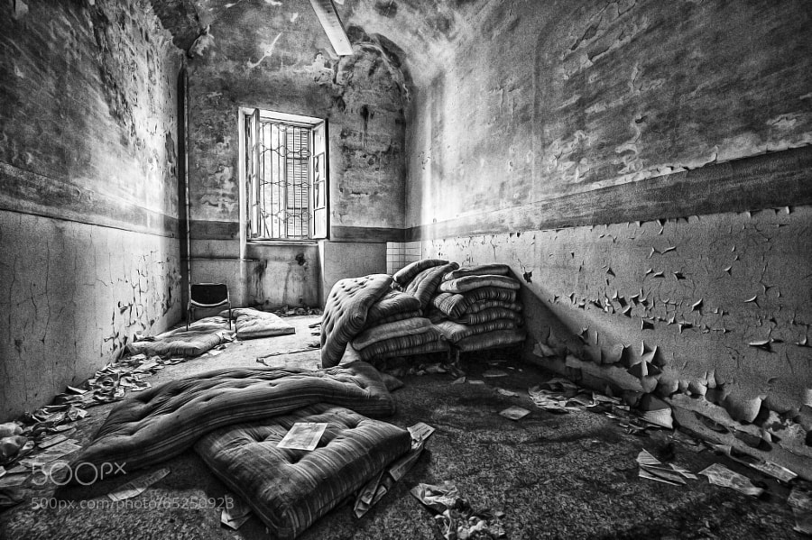 Photograph Ex ospedale psichiatrico di Mombello by PierSparrow  on 500px