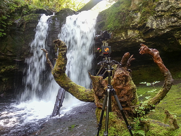 Waterfall timelapse with the TB3