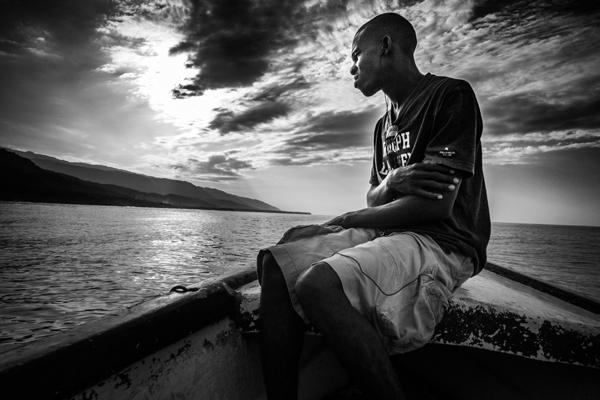 Haiti boat