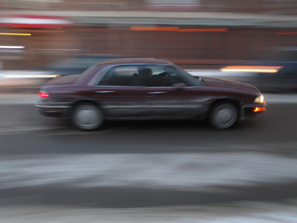 intentional camera movement, ICM, panning, motion, blur, car, vehicle