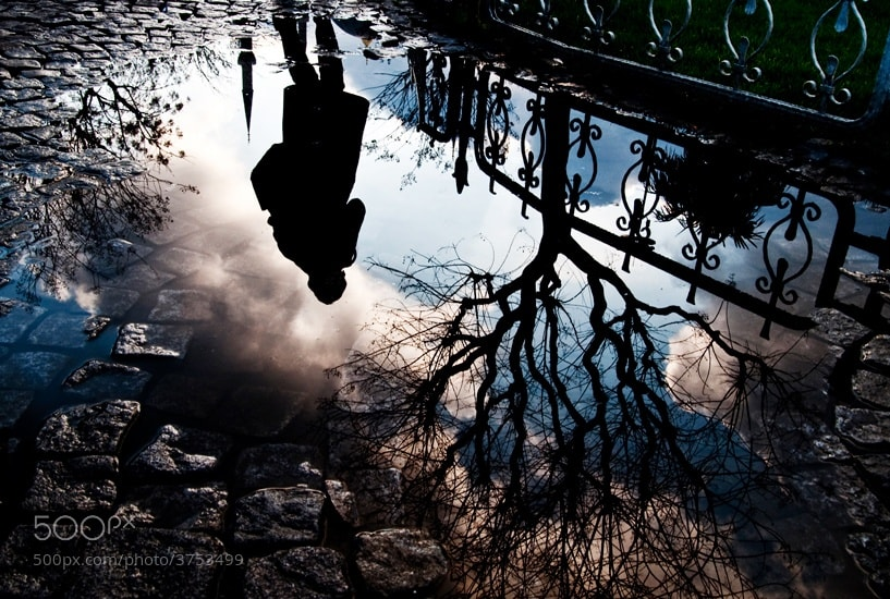 Photograph reflection in the water by Ali ilker Elci on 500px