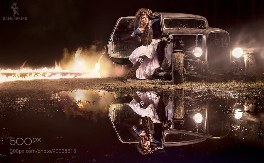Photograph Back to the HotRod by KAMERAKIND  on 500px