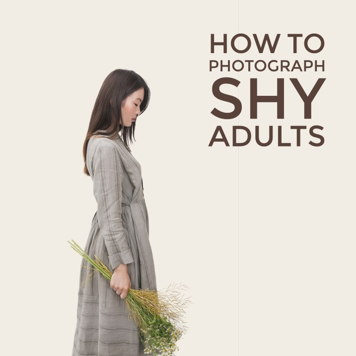 Tips for photographing shy adults