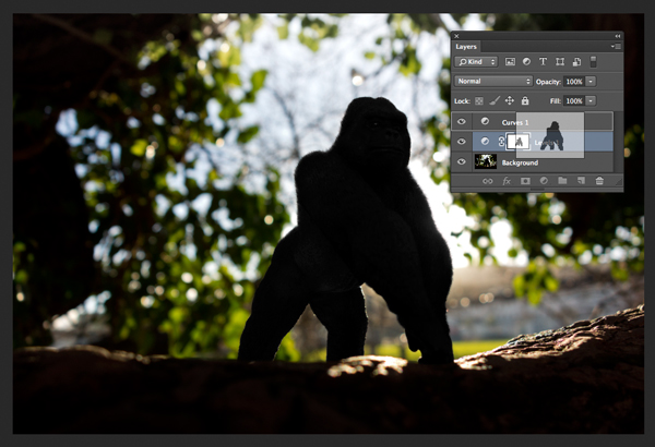 Gorilla duplicating masks on other adjustment layers