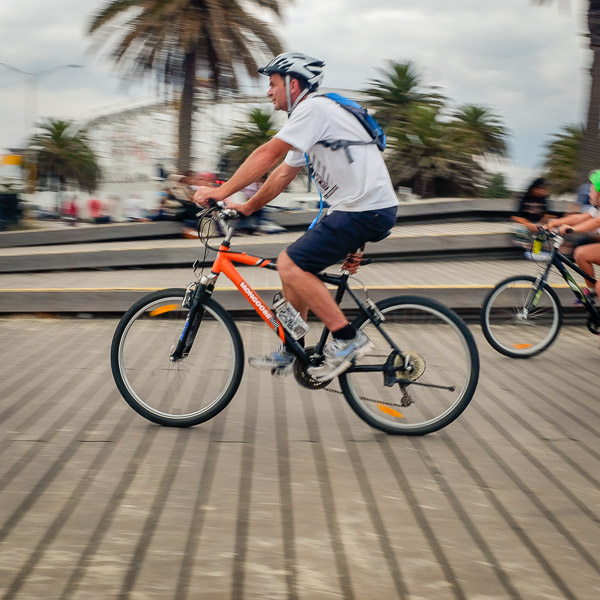 Img 3 Orange bicycle Melbourne 600px