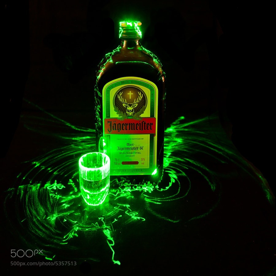 Photograph Jagermeister Shot by Andrew Jack on 500px