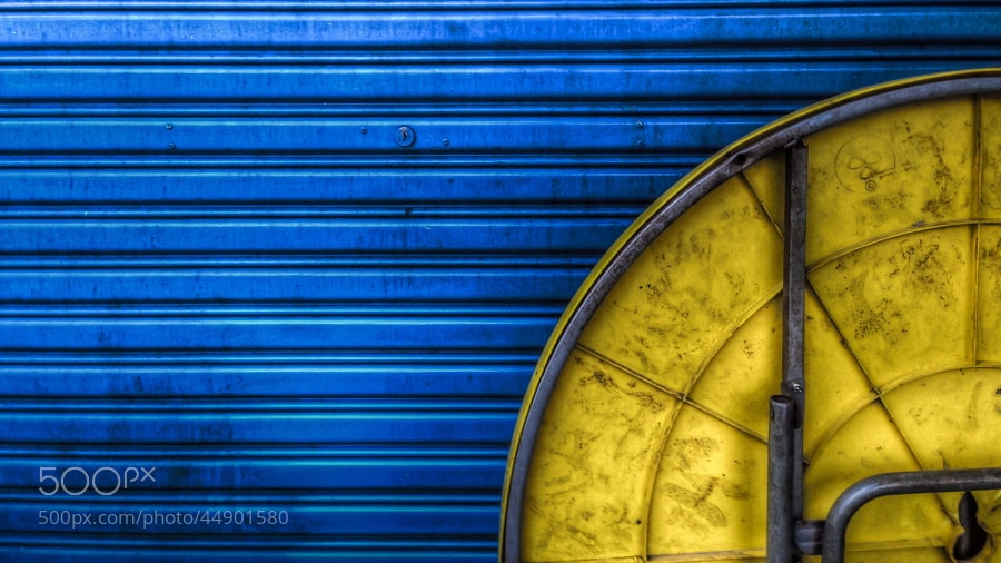 Photograph Blue | Yellow by Syahrel Azha Hashim on 500px