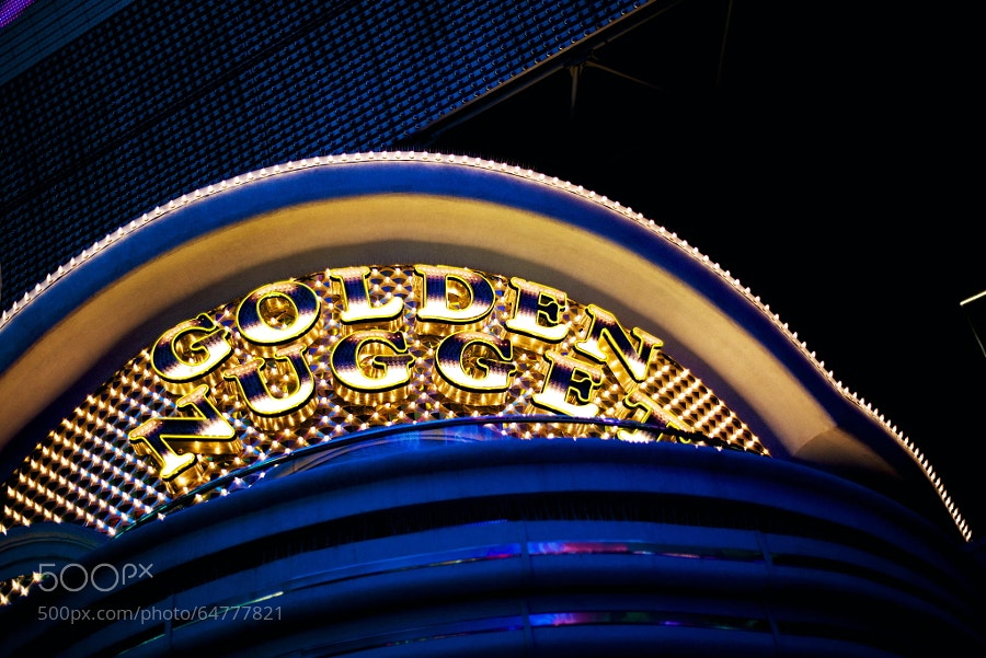 Photograph Golden Nugget Casino by Cameron Wendt on 500px