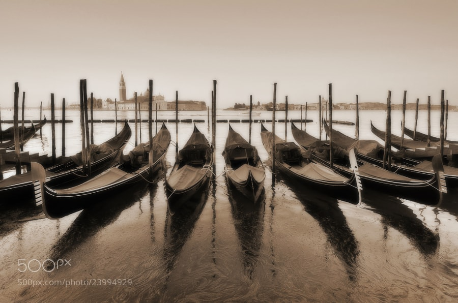 Photograph Venice Nostalgia by Csilla Zelko on 500px
