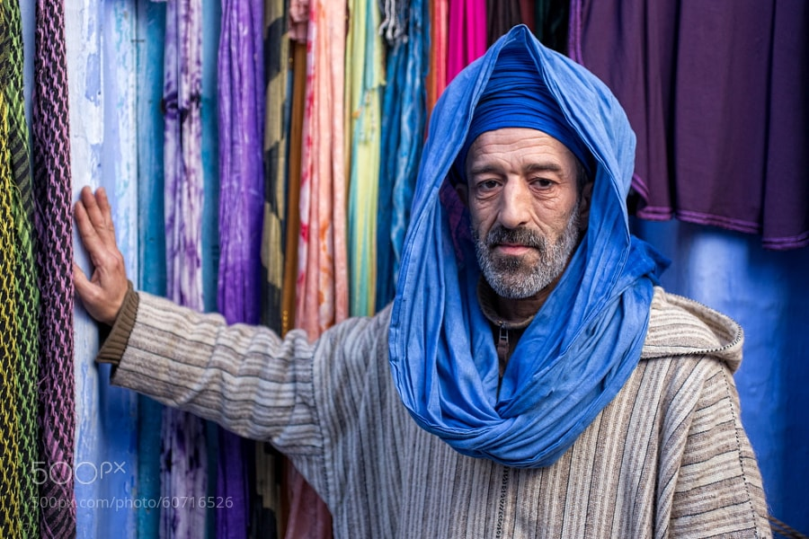 Photograph A Friendly Berber Man by Brad Hammonds on 500px