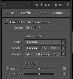 lightroom 5 lens profile corrections,