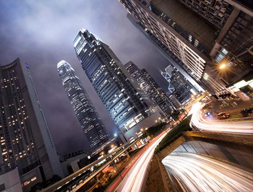 Hong Kong Light Trails