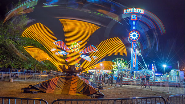 How to Photograph Fairground Rides