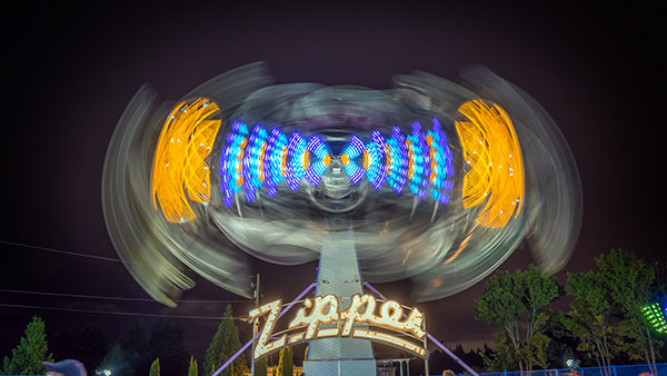 Photographing Amusement Parks