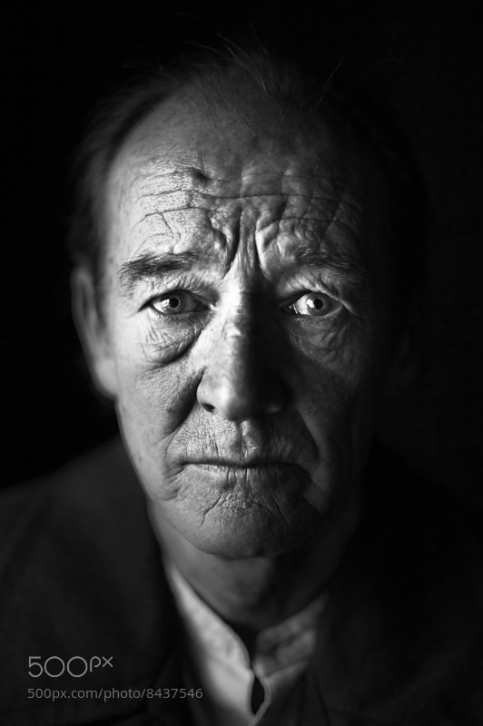 Photograph David Hayman, King Lear by Tommy Ga-Ken Wan on 500px